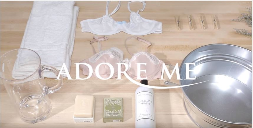 Adore Me | How To Properly Wash Your Lingerie